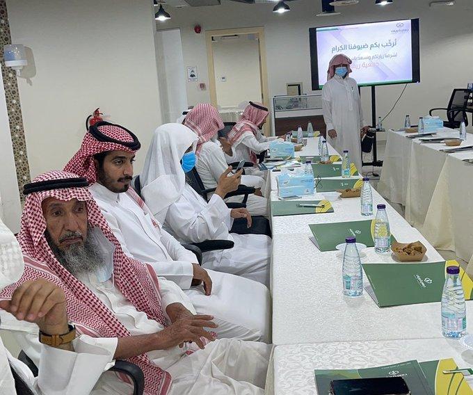 المدير التنفيذي للجمعية يحضر اجتماع مجلس الجمعيات الأهلية بمنطقة الرياض